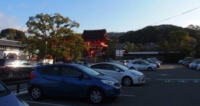 伏見稲荷大社の正月(初詣)期間のオススメの駐車場