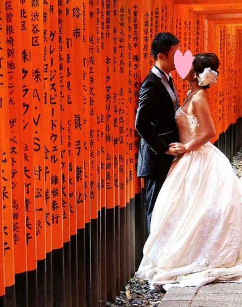 伏見稲荷大社で結婚式(挙式)挙げたい!「費用(値段)・予約方法・服装(貸衣装)・最低価格・平均価格」について