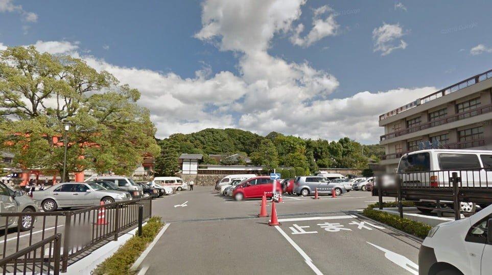 伏見稲荷大社・第一駐車場