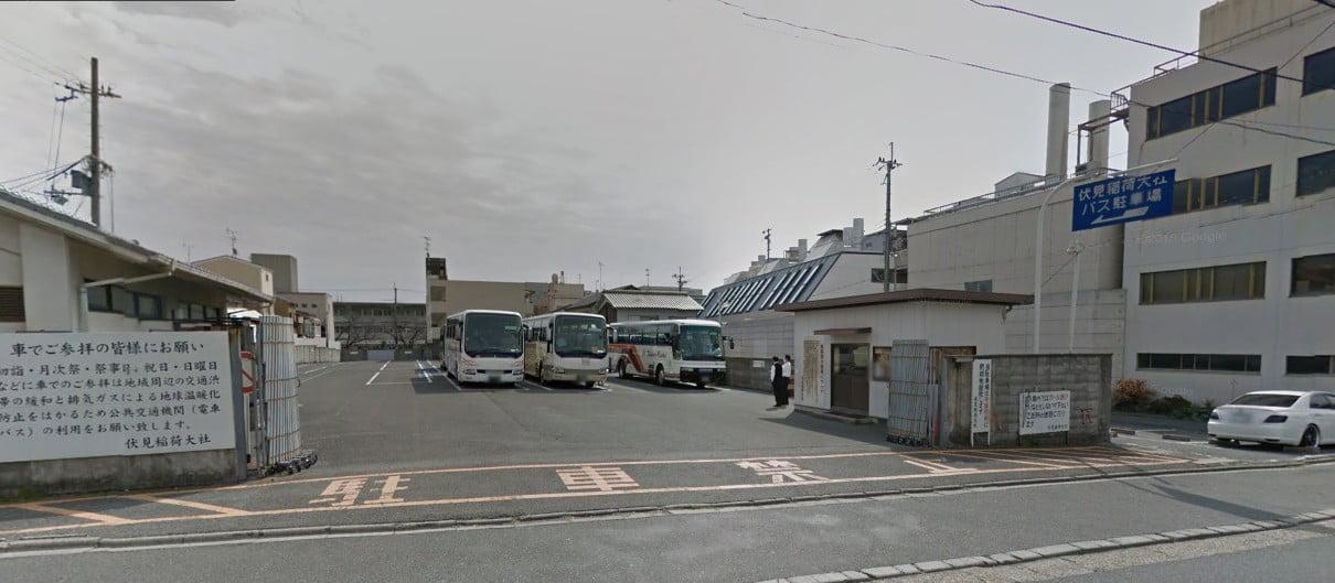 伏見稲荷大社・第二駐車場