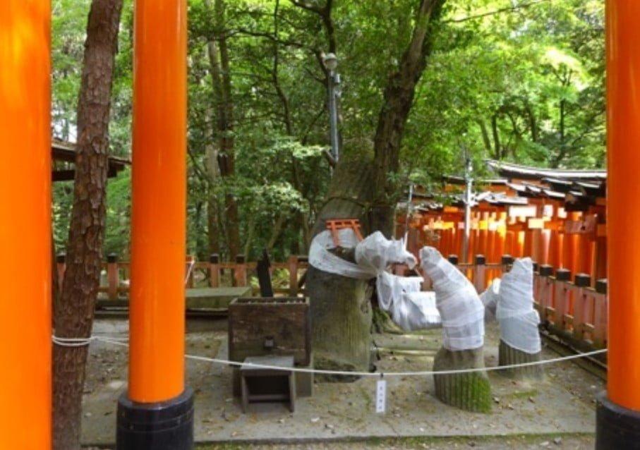 京都・伏見稲荷大社のパワースポット【その6】「奇妙大明神」
