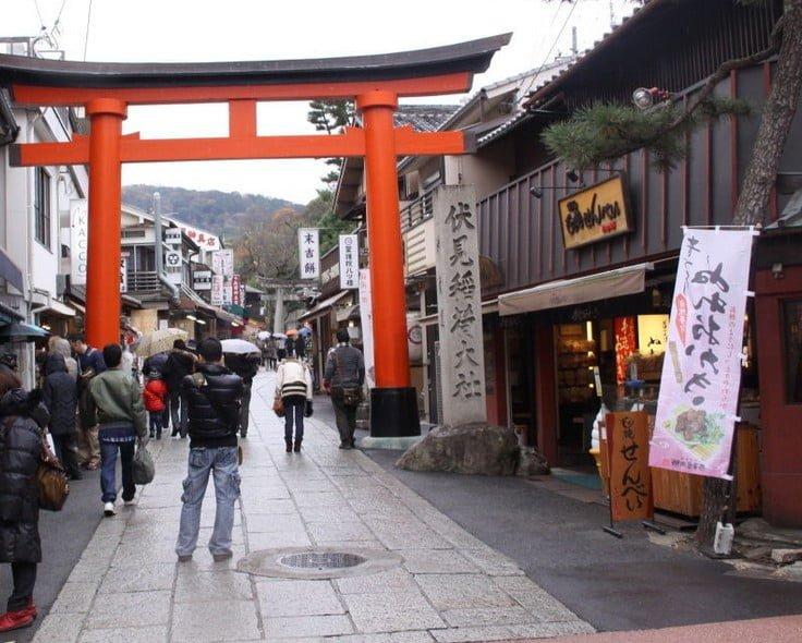 伏見稲荷大社・神幸道(裏参道)