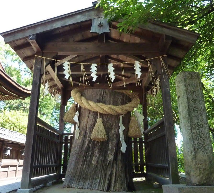京都・藤森神社・御旗塚