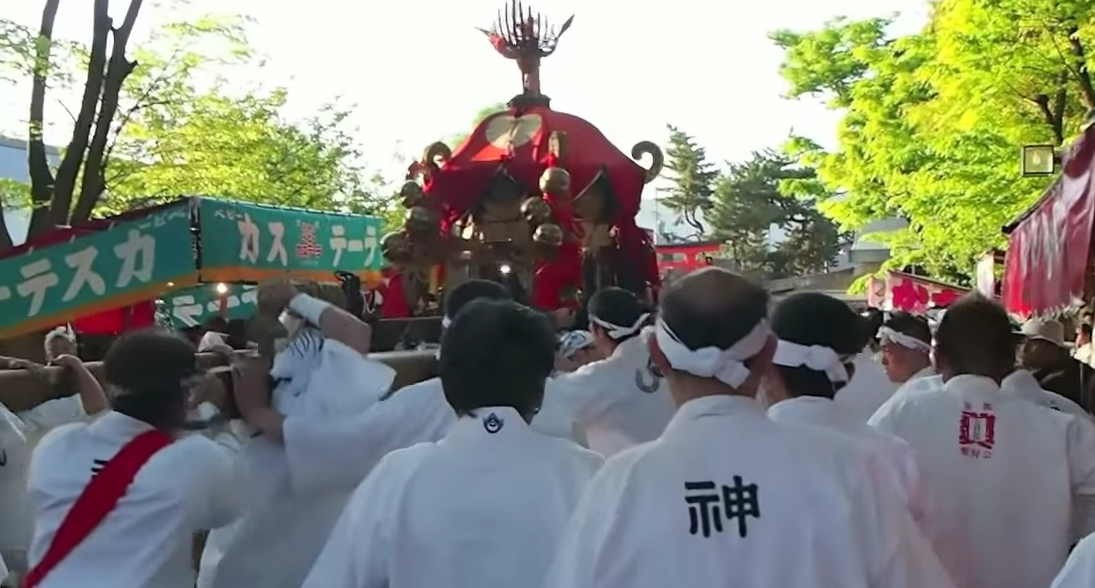伏見稲荷大社・氏子祭