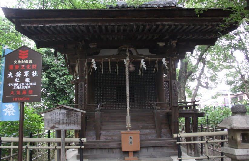 藤森神社・大将軍社社殿